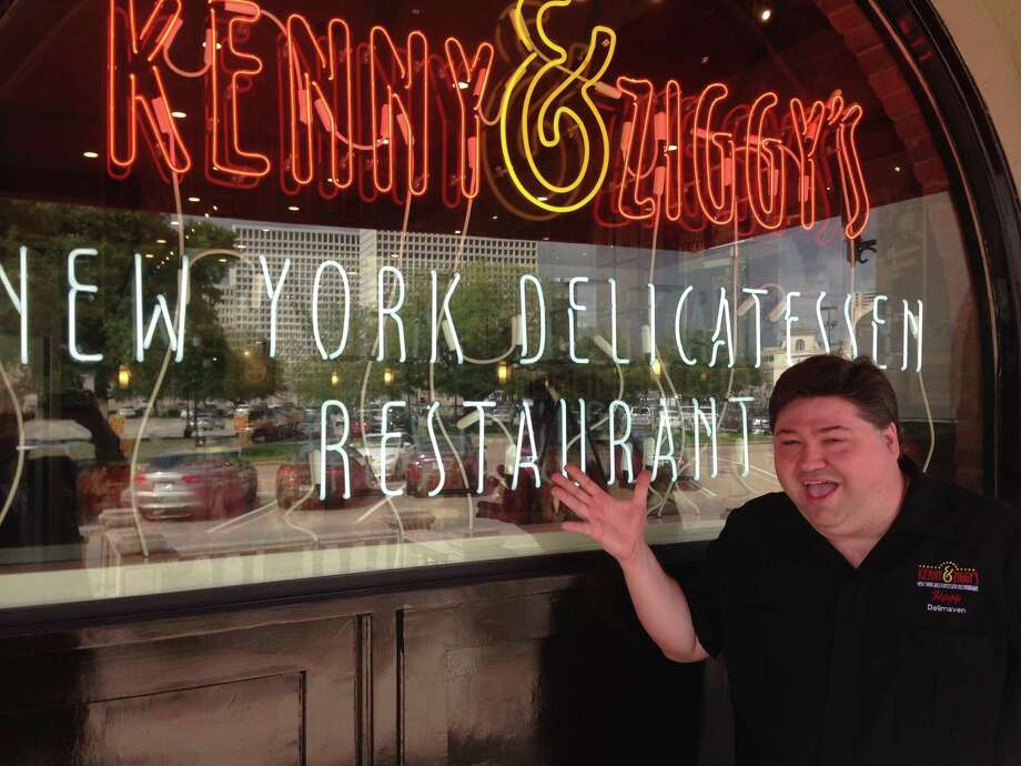 """Ziggy Gruber recently taped a segment for the """"Food Paradise"""" show on the Travel Channel. Photo: Greg Morago"""