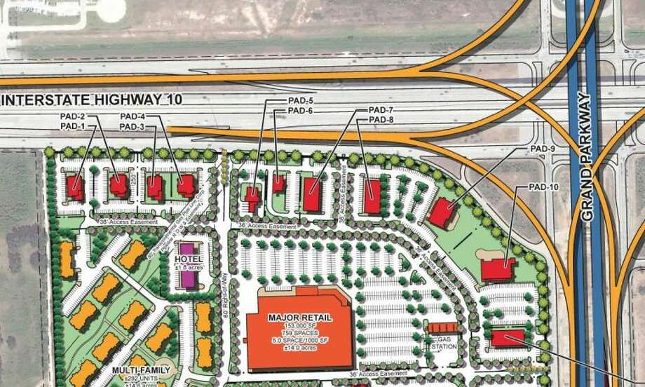 the planned site of the new katy area costco at the southwest corner of the