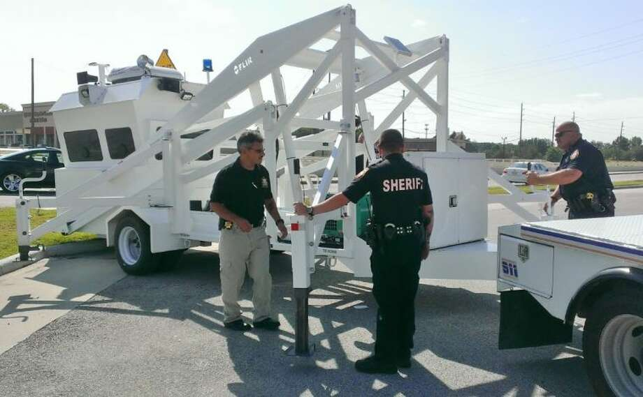 Deputies with the Harris County Sheriff's Office introduce Skywatch.