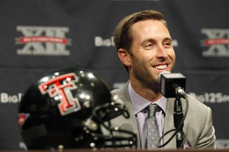 Texas Tech coach Kliff Kingsbury