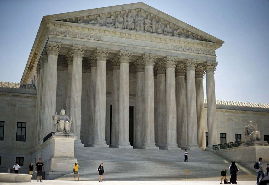 "The U.S. Supreme Court agreed Sept. 29 to hear a Bay Area case over whether a federal law requiring deportation for noncitizens convicted of felonies involving a ""substantial risk"" of violence is unconstitutionally vague. Photo: Pablo Martinez Monsivais, AP"