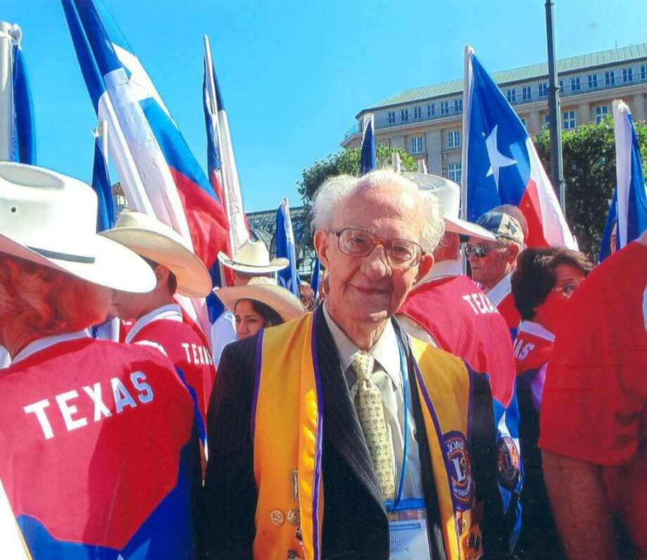 Rev. John Wuensche, Advocate devotional writer and Cleveland Lions Club member, participated in Lions Club International Convention.