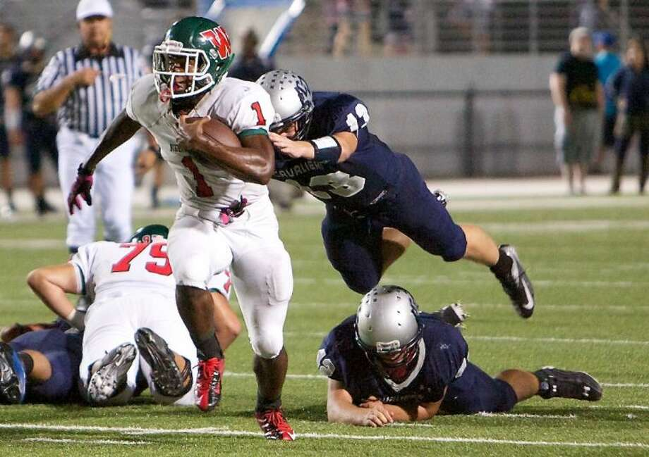 Patrick Carr ranks eighth on The Woodlands' all-time rushing list after piling up 2,021 yards as a sophomore last season. He scored 18 touchdowns on 224 attempts and also caught 18 passes for 176 yards.