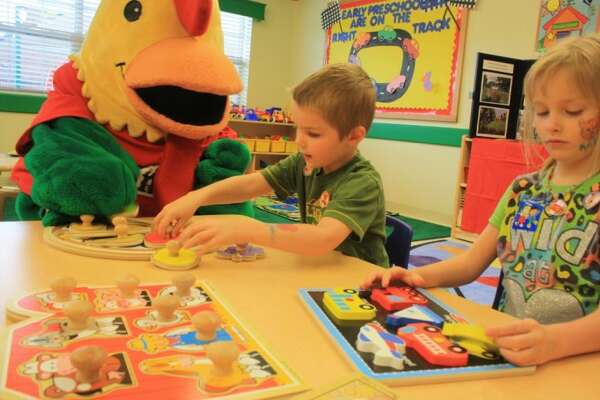 Primrose School held an official open house for the community. The school strikes a balance of curriculum-based learning with social, interactive activities.