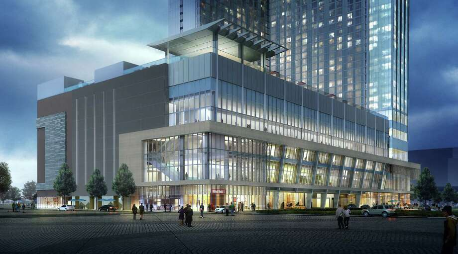 A Rendering Of The Marriott Marquis Houston New Downtown Hotel Opening November 2016