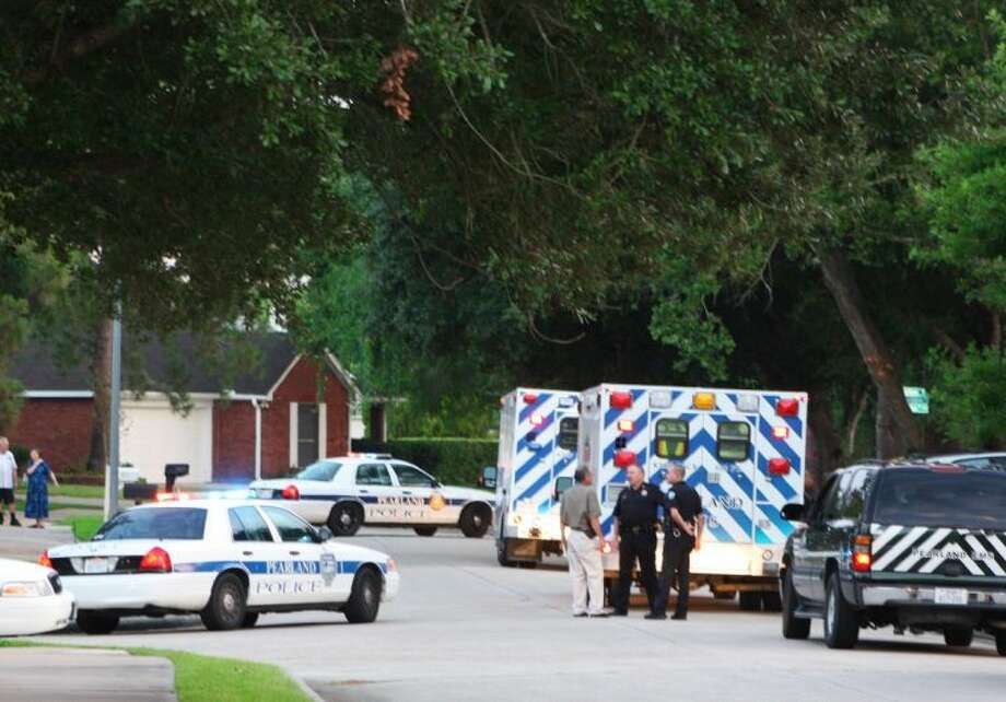 Pearland Police were called to a neighborhood to investigate a double shooting thought to be a murder suicide Friday (July 19).
