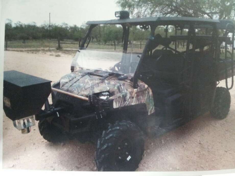 The ATV pictured in the photo was taken from the youth softball fields on Northpark Drive in mid-September. Anyone with information is asked to call the HPD Kingwood Division at 281-913-4500.