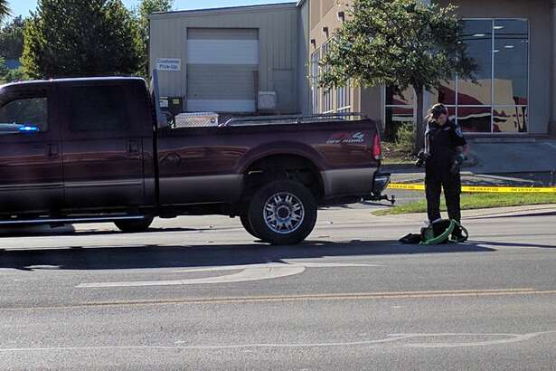 A woman was crossing the road in the 6900 block of San Pedro Ave., when she was struck in the middle lane Thursday, Sept. 29, 2016.