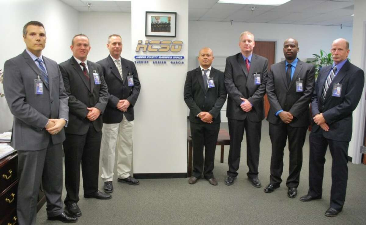 The Harris County Sheriff's Office recently welcomed seven new deputies.
