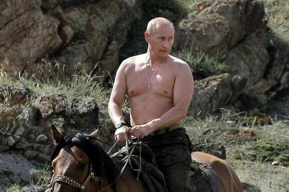 Boris Putin takes it half off