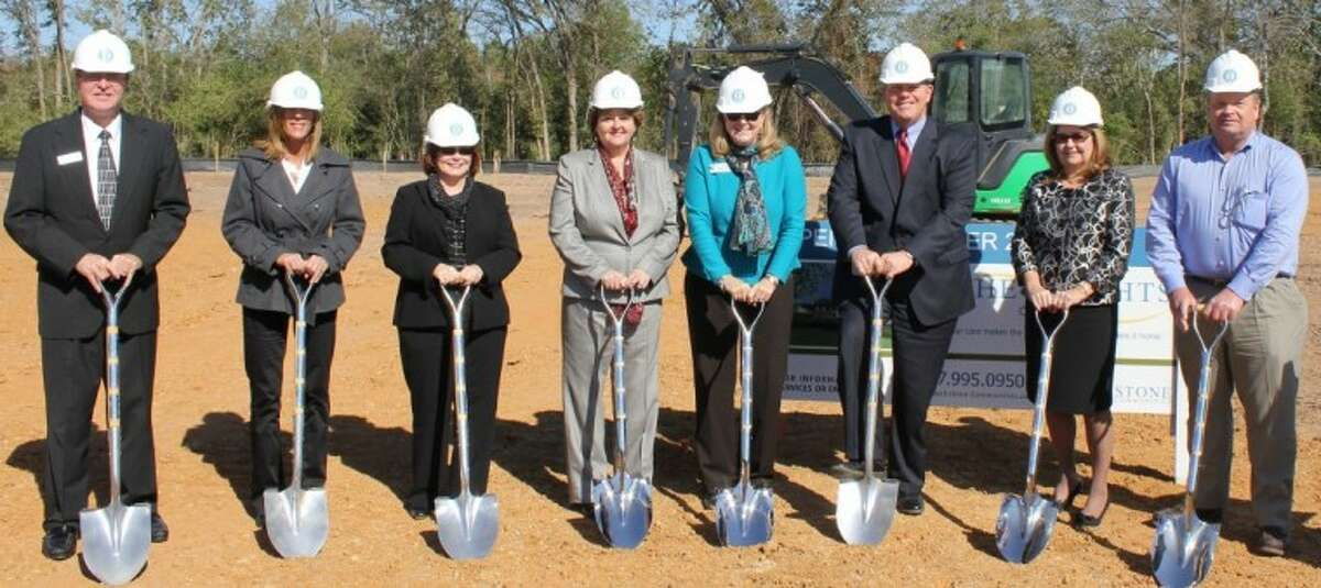 Ground was recently broken for The Heights of Tomball at 27849 Johnson Road in Tomball.