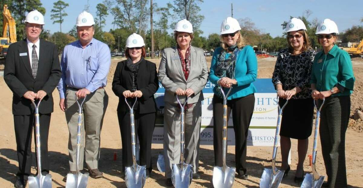 Scheduled to open in the summer, ground has been broken for The Heights of North Houston at 303 Hollow Tree Lane in Houston.