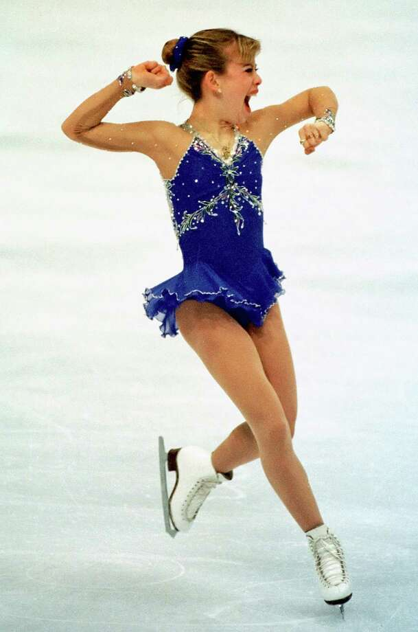 Tara Lipinski reacts as she finishes her long program.  Lipinski, of sugarland, won the gold medal in ladies figure skating at the 18th Winter Olympics Friday night Feb. 20, 1998 in Nagano, Japan.  Smiley N. Pool / Chronicle HOUCHRON CAPTION (02/21/1998): Upon completion of her long program Friday, Tara Lipinski knew her performance was as good as gold. 1998 WINTER OLYMPICS NAGANO, JAPAN Photo: SMILEY N. POOL, HC Staff / Houston Chronicle