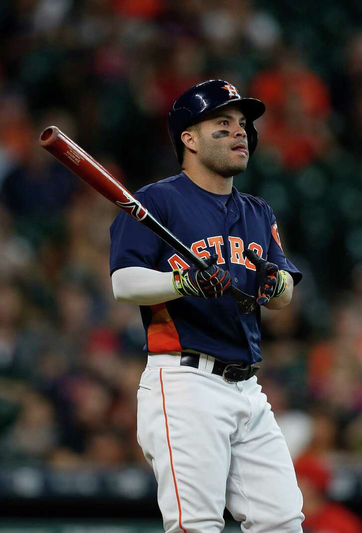 Jose Altuve takes a .337 batting average into the season's final series, putting him 17 points up on Mookie Betts.
