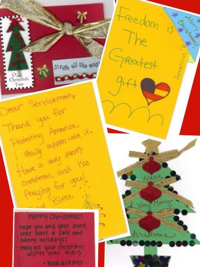 Local communities send 66,000 holiday cards to troops stationed ...
