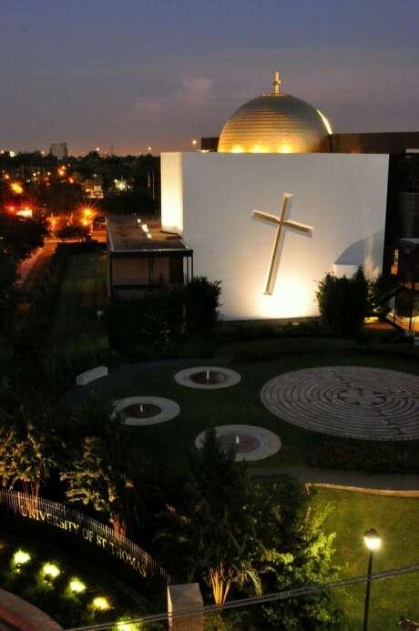 The Chapel of St. Basil. Photo: Courtesy The University Of St. Thomas, Nicole Christians
