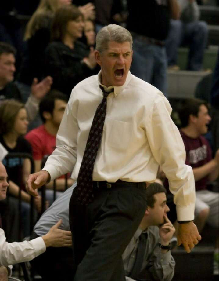 Magnolia boys' basketball head coach Danny Randall is pictured. The Bulldogs have a full slate of district games approaching.