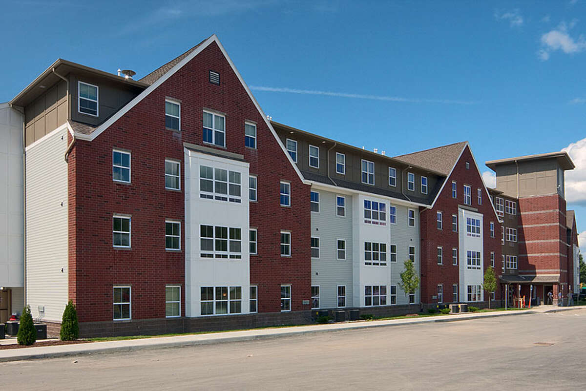 The College Suites at Cortland, once owned by United Group, led to losses at a United Group investment fund.
