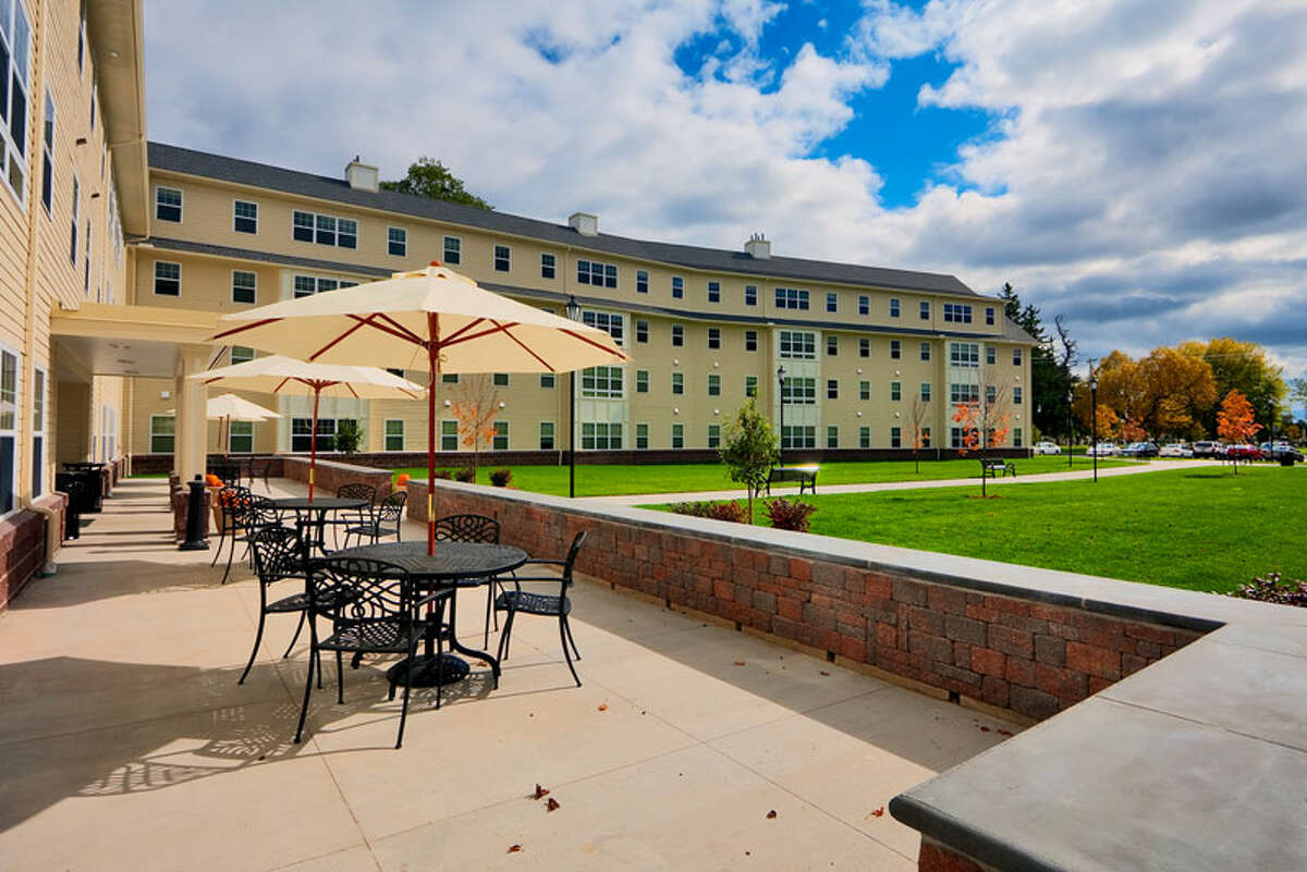 Broad Street Commons, a private student housing complex next to the SUNY Plattsburgh campus. United Group lost it in bankruptcy earlier this year.