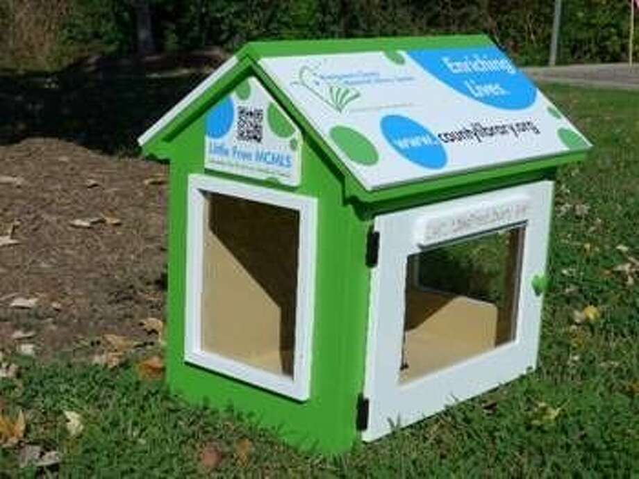"""The Montgomery County Library System is the the steward of the first Little Free Library in the county. The Little Free MCMLS Library Branch will soon be available for """"check out"""" by selected individuals and organizations, traveling several times per year to be temporarily installed at various publicly accessible locations throughout the county."""