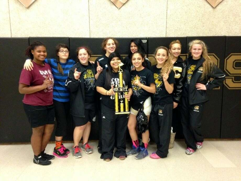 The Conroe girls wrestling team won the Conroe Duals with a perfect 3-0 record on Saturday at Conroe High School.