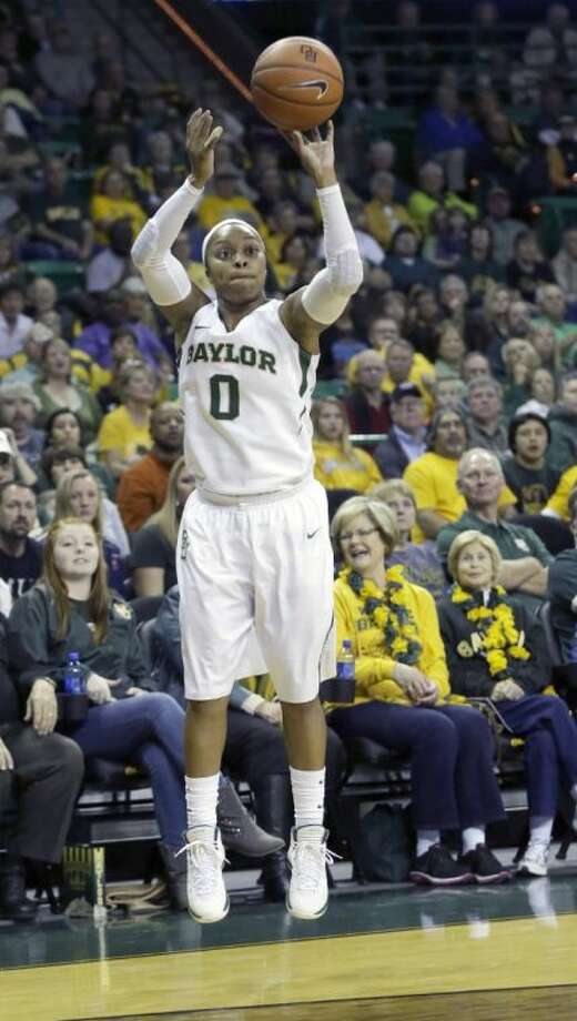Baylor guard Odyssey Sims leads the nation in scoring with 31.8 points per game. Photo: LM Otero