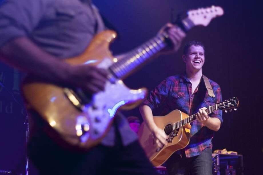 Sam Riggs & The Night People perform at Dosey Doe Big Barn on Wednesday.