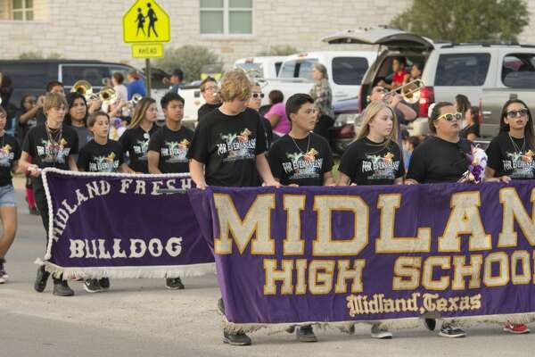 Midland High 2016 homecoming parade Thursday 09-29-16. Tim Fischer/Reporter-Telegram