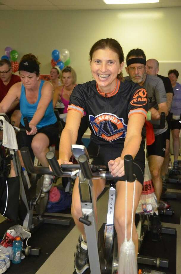 A silent and live auction will be held 11-11:30 a.m., immediately following the Spin-a-Thon. This is an opportunity to use the Spin Bucks earned during January cycling classes and during the Spin-a-Thon.