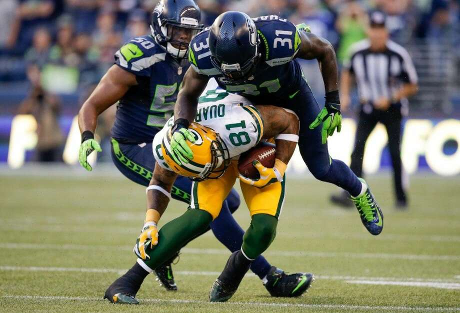 Seattle safety Kam Chancellor (31) brings unique abilities to the Seahawks' defense. Photo: Scott Eklund