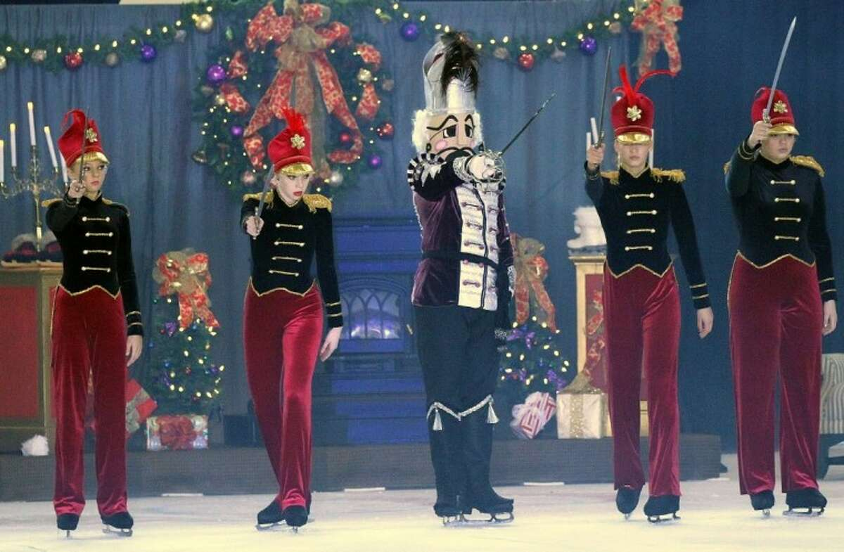 Soldiers come to life in Nutcracker on Ice.