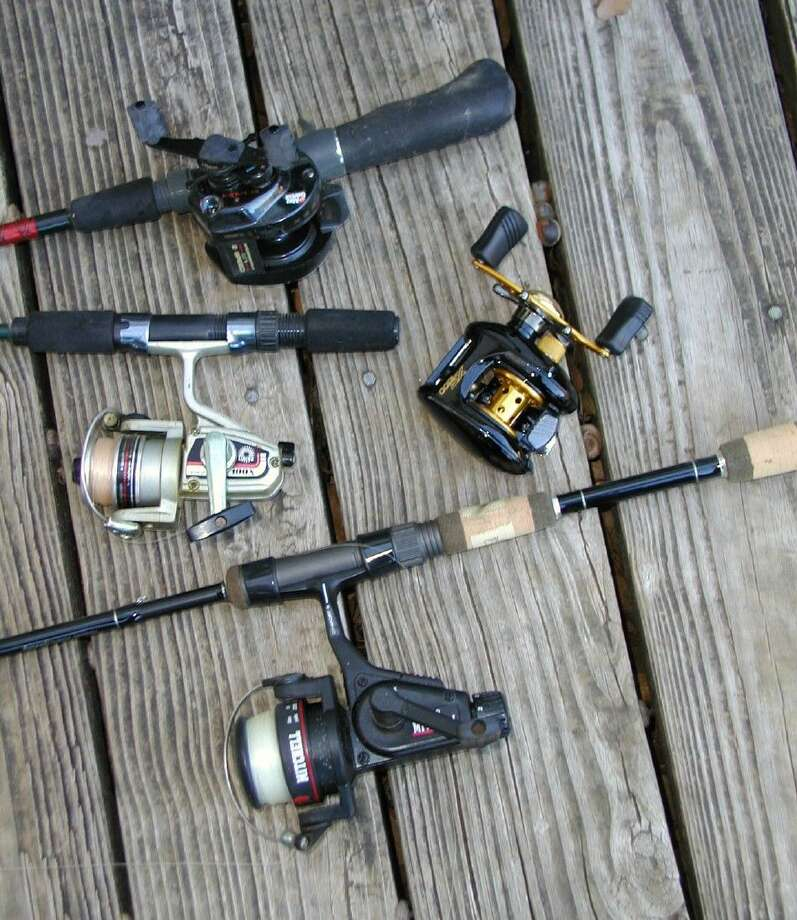 Reels of different types and sizes, a small representation of the selection available.