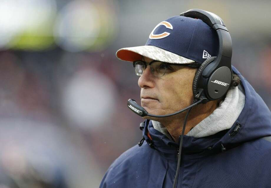 Former Chicago Bears head coach Marc Trestman was hired as offensive coordinator of the Baltimore Ravens. Photo: Nam Y. Huh