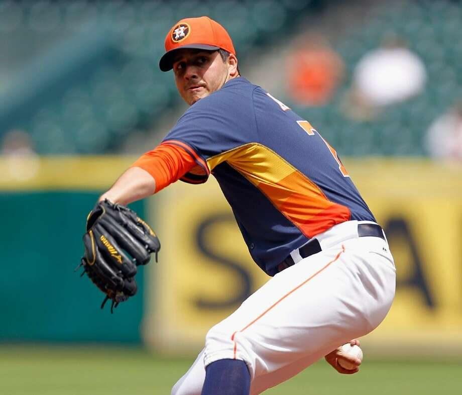 Houston Astros pitcher Mark Appel, team's top draft pick in the 2013, has a chance to make his major league debut this year. Photo: Bob Levey