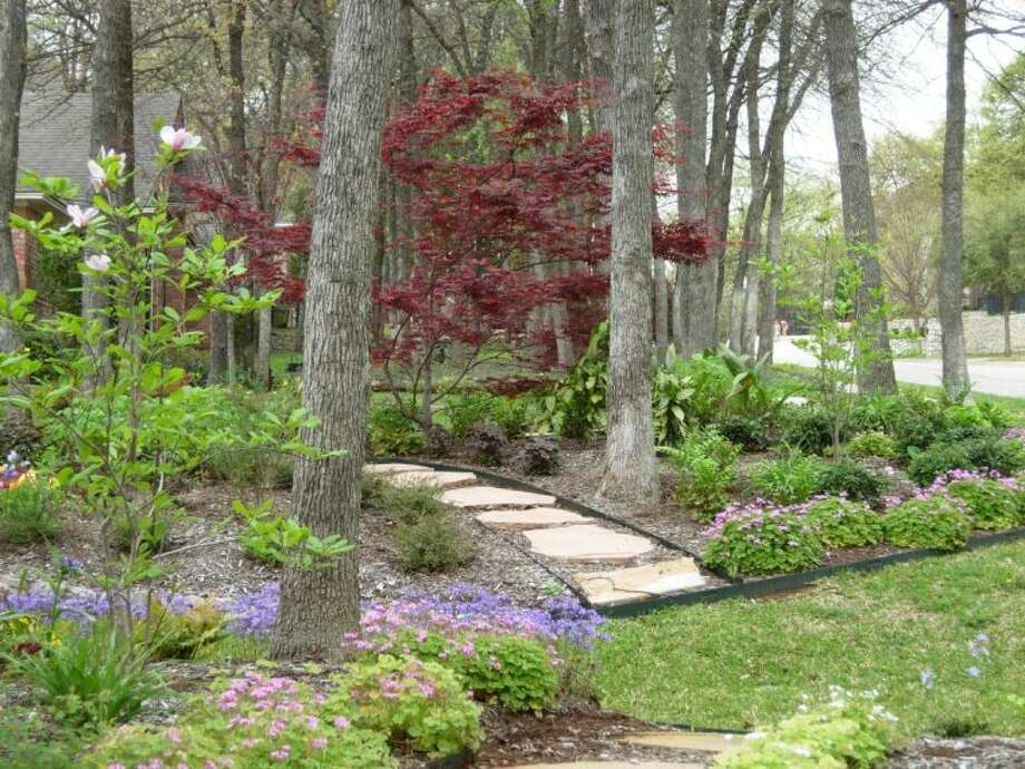 A cottage garden in a shaded area. Photo provided by Lucy Harrell, an organic gardening consultant with Toadstools Lawn, Garden and Gifts in Willis. Harrell will give presentations at the home and garden show on Saturday and Sunday of the Feb. 8-9 event.
