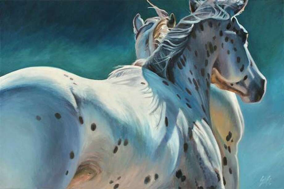 Equine artist Susan Sheets will make an appearance atCreekFest Houston 2013 on Saturday, Oct. 12 from 9 a.m. - 4 p.m. Photo: Susan Sheets