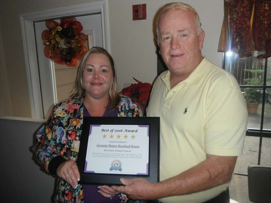"""Serenity Manor Assisted Living of Conroe has been named as """"Conroe's Finest Assisted Living for 2016."""""""