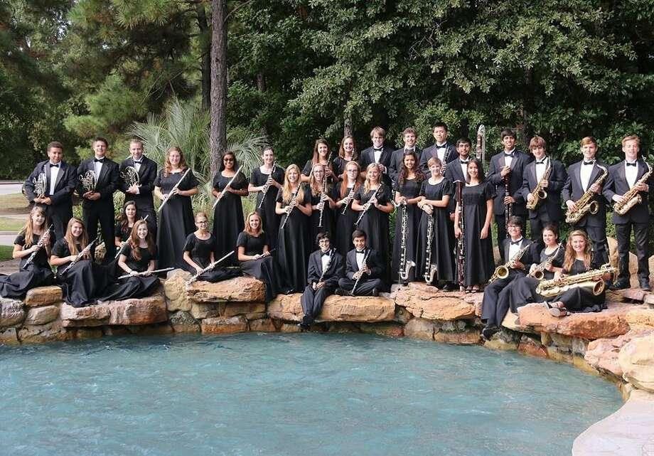 College Park The Woodlands Wind Ensemble. Photo: David Terribile