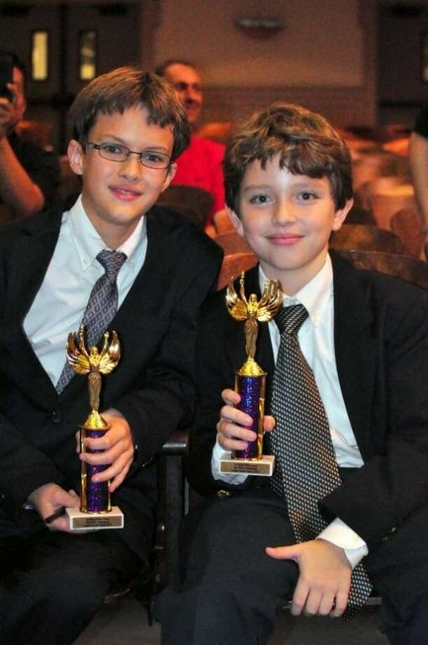 Alexander Nelson-Groocock and Ben Yifrach placed 1st overall in Public Forum Debate at the All Sixth Grade Lanier Debate competition Dec. 8.
