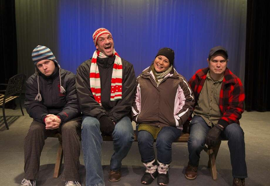 "The Players Theatre Company opens ""Almost, Maine"" Friday at the Owen Theatre. The show is about the mythical town of Almost, Maine as its residents find themselves falling in and out of love in a midwinter night's dream."