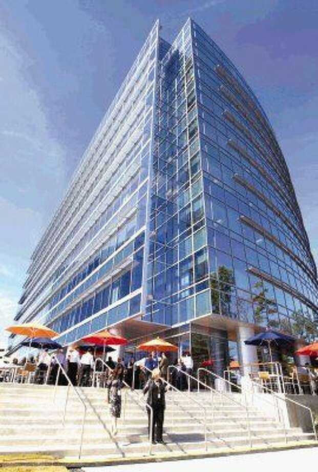 Repsol held a celebration of the opening of the company's North American headquarters Wednesday in The Woodlands.