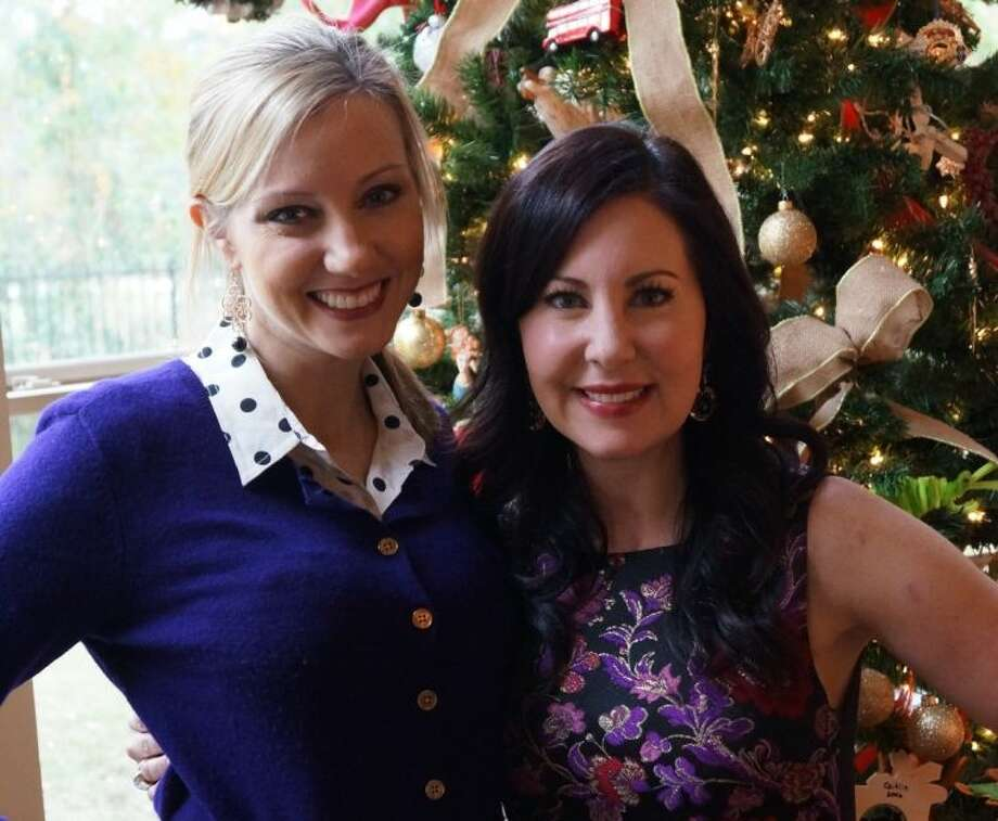 Jena McCrann, left, and Mary-Kathryn D'Agostino will serve as co-chairs of the 2014 Giving Goes Glam Fashion Show. The New York-style runway show will be at The Woodlands Waterway Marriott Hotel and Convention Center April 4.