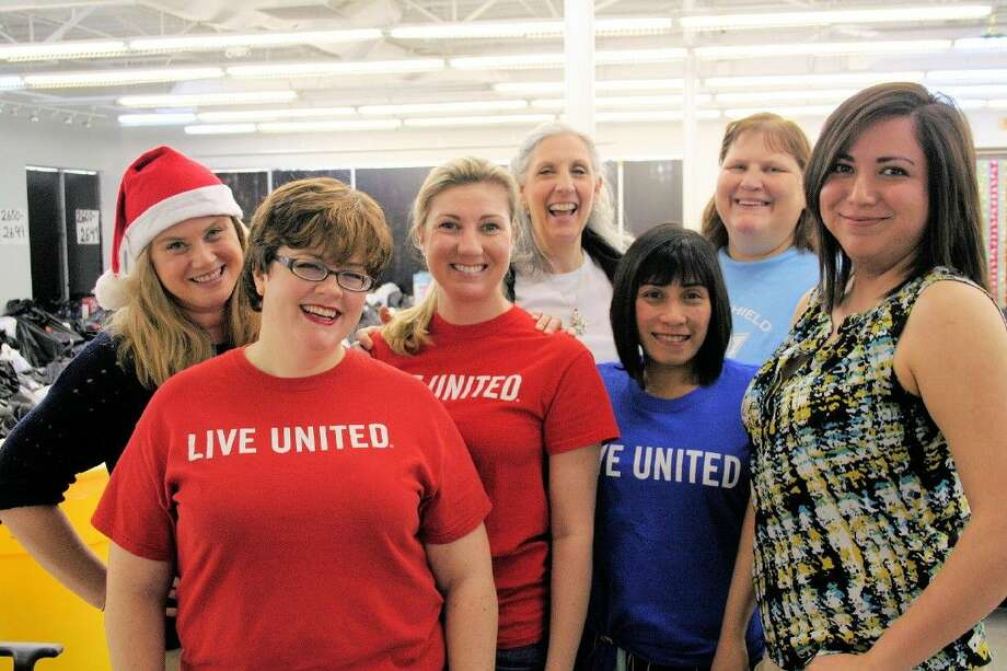 Montgomery County United Way staff members filled Santa bags with donated Christmas gifts for children and senior citizens in need in Montgomery County.