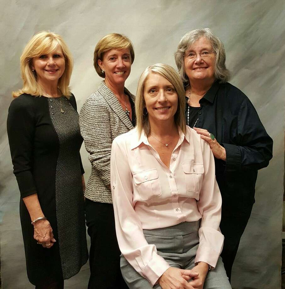 The four new members of The Woodlands Arts Council's Board of Directors are (from left to right): Dr. Maria Holmes, Mary Anne Whitney, Heather Dickens and Sue Burke Harrington.