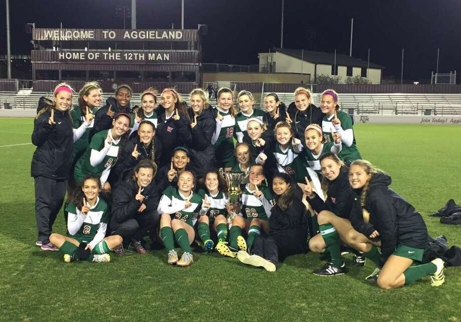 The Woodlands girls soccer team won the Brazos Valley Cup on Saturday with a win over Friendswood.