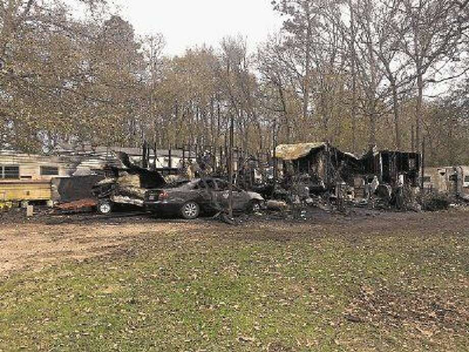 A man with special needs in his 50s died in mobile home fire in Splendora Friday night.