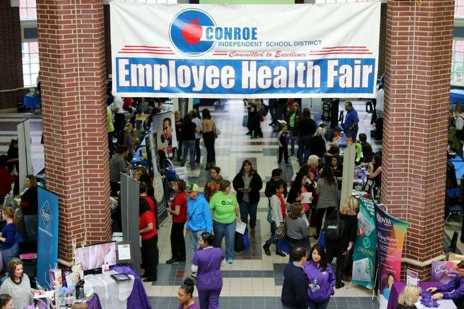 CISD held its annual Employee Health Fair on Saturday, Jan. 9 at College Park High School.