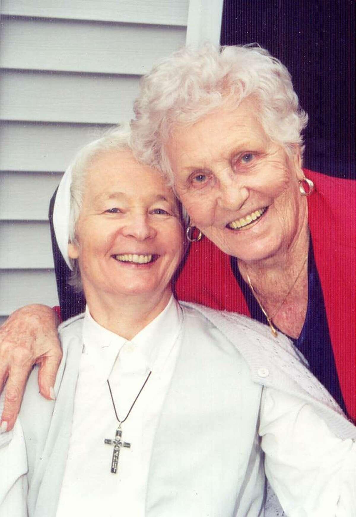 Sr. Frances Smalkowski, CSFN and her mother,Frances Schenck.