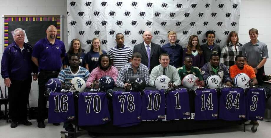 Willis had 13 athletes sign national letters of intent on Wednesday.