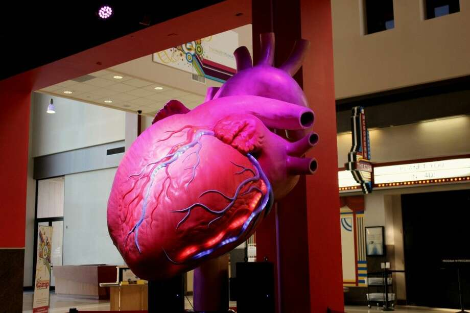 On Monday, Feb.1, The Health Museum will debut a 12-foot-tall Giant Beating Heart just in time for Heart Health Month.